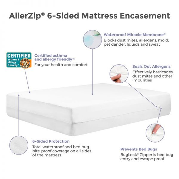 protectabed bed bug proof mattress encasement water