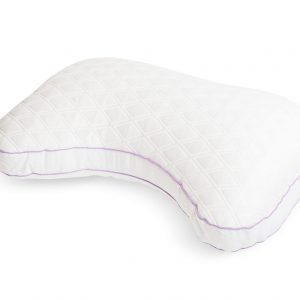 glideaway quest pillow side sleeper curved