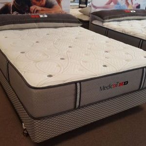 therapedic medicoil hd1000 mattress no sag hard durable mattress mart