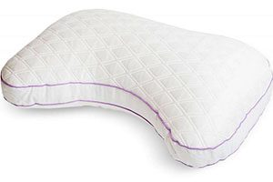 glideaway quest side sleeper curved p illow