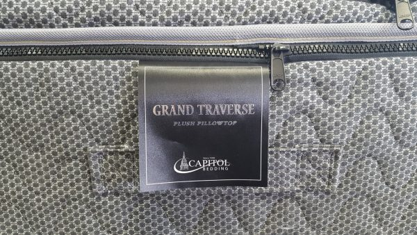 grand traverse pillowtop still with zipper