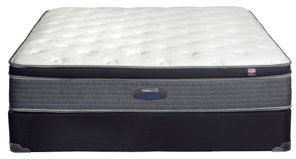 therapedic anthem pillowtop good guest room kids bed college apartment sale