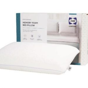 sealy memory foam comfort pillow